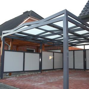 Carport in Edlem Design